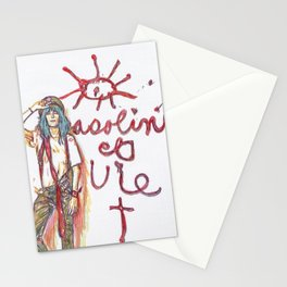 Patti Smith Vandalism Pasolini Et Vie Stationery Cards