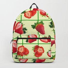 Strawberries pattern Backpack