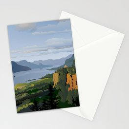The Columbia River Gorge Stationery Cards