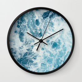 Rough Sea - Ocean Photography Wall Clock