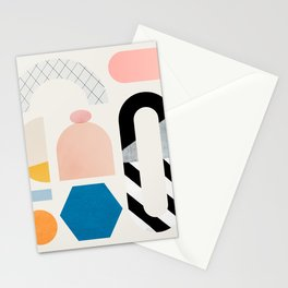 Abstraction_Shapes Stationery Cards
