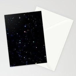 Rainbow Constellations Stationery Cards