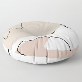 Lines & Shapes Floor Pillow
