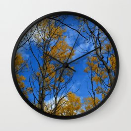 Fall in Jasper National Park Wall Clock