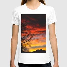 Fire Sunset T-shirt