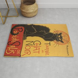 Soon, the Black Cat Tour by Rodolphe Salis Rug
