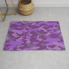 Purple Camo Rug