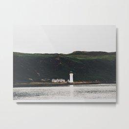 The Rubha Nan Gall Lighthouse Metal Print