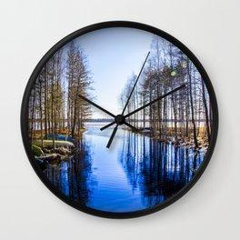 Pappilanjoki, Finland, Juva Wall Clock