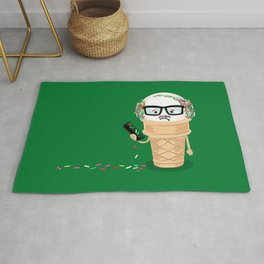 Ice Cream Coneover (Holiday Edition) Rug