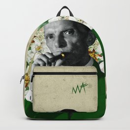 The wise & daper altruist, Muhammad Jinnah Backpack
