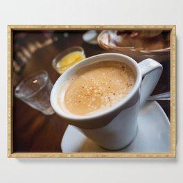 Italian Latte Coffe Serving Tray