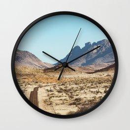 The Lost Highway III Wall Clock