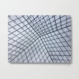 All the Louvre-ly Diamonds Metal Print