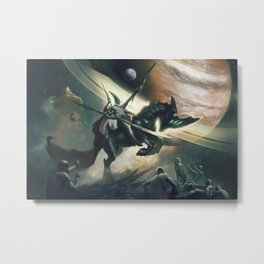 The Worship of the God of Nullity Metal Print