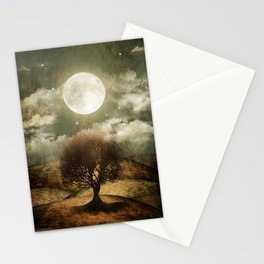 Once upon a time... The lone tree. Stationery Cards