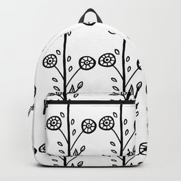 Leaves And Circles Backpack