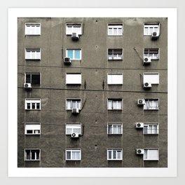 Belgrade / Facade Art Print