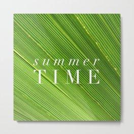Summer Time Metal Print