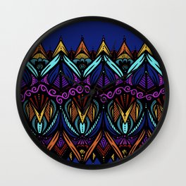 Rainbow Lace | Nicole B Roberts Wall Clock