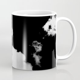 black & white clouds #1 Coffee Mug