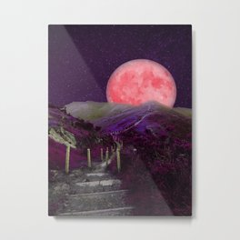 The Moon Is This Way 2 Metal Print