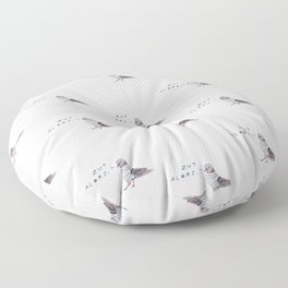 Zut Alors // French Birds Floor Pillow