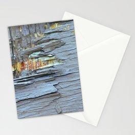 Vintage Peeling Paint On Reclaimed Wood Stationery Cards
