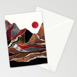 Copper Vista Stationery Cards