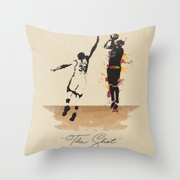"""The Shot"" Kyrie Throw Pillow"