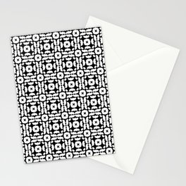 I Am A Neurotic . Black and White Stationery Cards