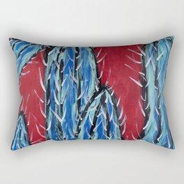 """""""Azul Towers"""" Rectangular Pillow"""