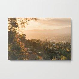 Mulholland Sunset 02 Metal Print