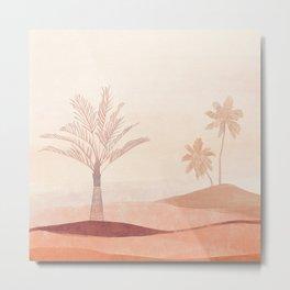 Balance - Imaginary Desert Landscape II Metal Print