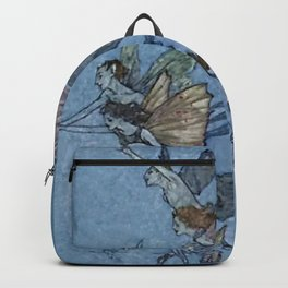 """Elves"" Fairy Tale Art by Edmund Dulac Backpack"