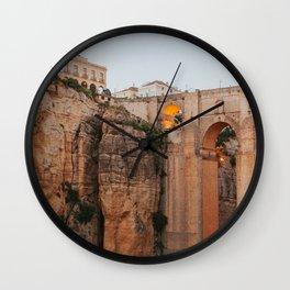 Ronda's New Bridge Wall Clock