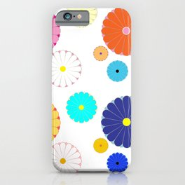 HOMEMADE JAPANESE FLOWER PATTERN iPhone Case