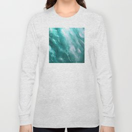 In the Company of Myself: Abstract #2 Long Sleeve T-shirt