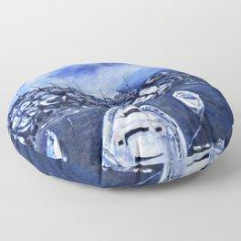 Kimberly's Mergellina Boats Floor Pillow