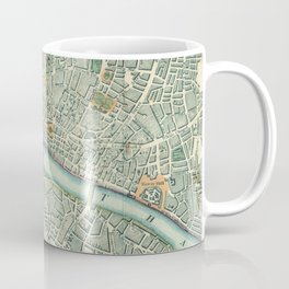 Vintage London Map Coffee Mug