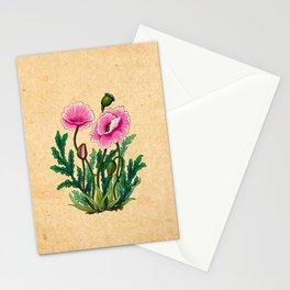 Minhwa: Poppy: Opera A Type Stationery Cards