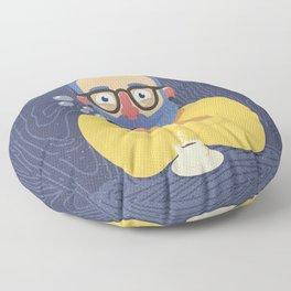 Blue Beard Floor Pillow