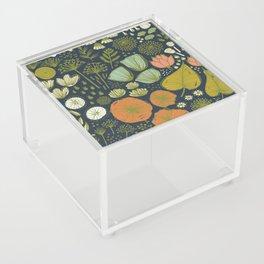Botanical Sketchbook M+M Navy by Friztin Acrylic Box