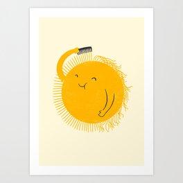Here comes the sun Kunstdrucke