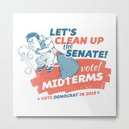 Clean Up the Senate Metal Print