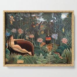 Henri Rousseau - The Dream Serving Tray