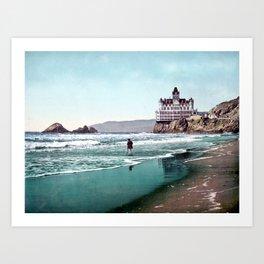 The Cliff House, San Francisco 1899 Art Print