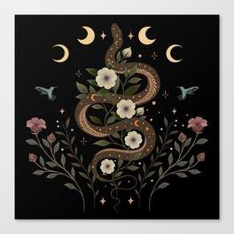 Serpent Spell Canvas Print
