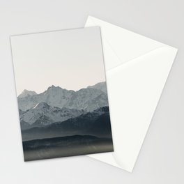 Mountains' Silhouette | Nature and Landscape Photography Stationery Cards