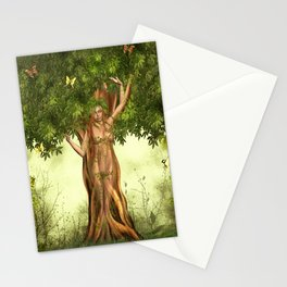 Mother Nature Tree Stationery Cards
